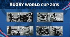 GB 2015 RUGBY WORLD CUP PRESENTATION PACK No 517 MINT STAMP SET SG3748-57  #517