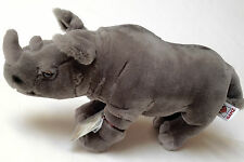 Webkinz Signature Black African Rhinoceros~Endangered Species Edition~New Tags