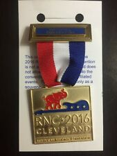 2016 Republican National Convention President Donald Trump DC Delegtion Badge