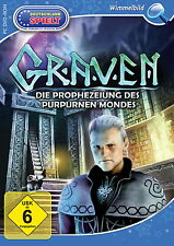 GRAVEN * DIE PROPHEZEIUNG DES PURPURNEN MONDES *  WIMMELBILD-SPIEL PC DVD-ROM