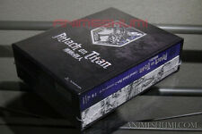 Attack on Titan Part 2 (LIMITED EDITION + Ender Box) Anime DVD+Blu-ray R1 Rare!