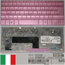 Clavier Qwerty Italien HP MINI 110 V100226FK1 537754-061 537954-061 Rose/ Pink