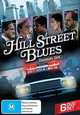 Hill Street Blues Season 6  22 Episodes 6 Disc DVD Set NEW with Free local Post
