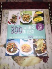 300 Calories or Less-- ( with Food Diary!)  HB --FREE SHIPPING --