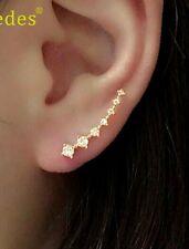 Newly Design Rhinestone Crystal Earrings Ear cuff  Stud Earrings