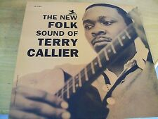 TERRY CALLIER THE NEW FOLK SOUND OF  LP PRESTIGE REISSUE