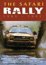 The Safari Rally 1985 - 1991 (New DVD) Rallying WRC Vatanen Mikkola Biasion