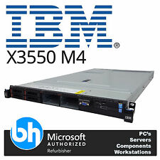 IBM X3550 M4 1U Server 256GB RAM 2 x 12 Core E5-2695v2 2.40GHz Rackable M5110
