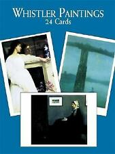 Whistler Paintings: 24 Cards (Card Books), Whistler, James McNeill, Good Book