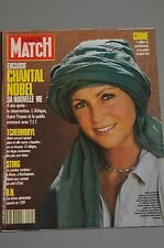PARIS MATCH N° 2085 CHANTAL NOBEL BORDES PROST TCHERNOBYL STING RAONI 1989