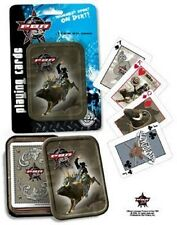 PBR - Professional Bull Riders - Playing Cards in Collector's Tin by Rix