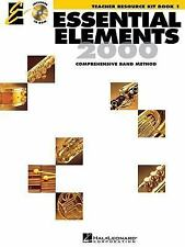 Essential Elements 2000 Teacher Resource Kit Trk Book/Cd Rom, , Very Good Book