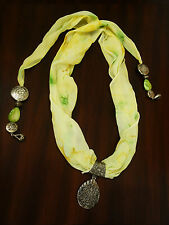 Fashion Women's Scarf with pendant and accesories
