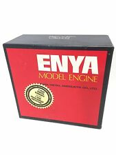 Vintage Enya 50CX TN Type Model 6201 Engine RC Plane Nitro New W/ Box & Manuals