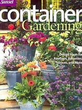 NEW CONTAINER GARDENING Design Ideas for Rooftops, Balconies, Terraces Book