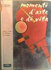 Momenti d'arte e di vita. Cento anni di prosa italiana. - Nico Ferrarone, 1964