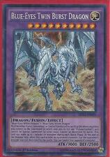 Yugioh SHVI-EN099 Blue-Eyes Twin Burst Dragon Secret Rare Card