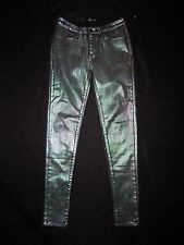 Levi's 'Core Better Legging' Coated Skinny Jeans green mix size 26