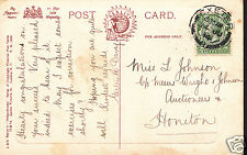 Genealogy Postcard - Family History - Johnson - Honiton - Devon  BH5088