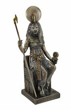 "8.25"" Egyptian Sekhmet Sculpture Sehkmet Ancient Egypt God Statue Lion Warrior"