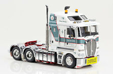 Drake Link Low Loaders Kenworth K200 Prime Mover w/2x8 Dolly & 3x8 Trailer 1/50