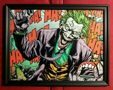 Batman Joker Framed Art Print DC Marvel Comic Book Memorabilia Gift Present
