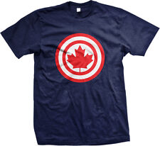 Maple Leaf Target Canada Canadian Pride Hockey Great White North Mens T-shirt