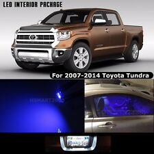 14PCS Blue LED Interior Bulbs Package 2008 Toyota Tundra White for License Plate
