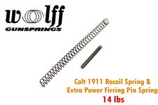 Wolff Gunspring 1911 Colt .45 ACP 14 LBS Chrome Silicon Recoil Spring 52714