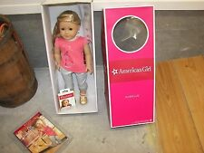 American Girl Isabelle with Extra 6 Pair Earrings - NEW in Box