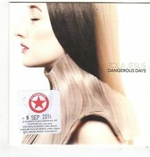 (FL760) Zola Jesus, Dangerous Days - 2014 DJ CD