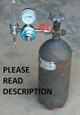 MIG WELDER GAS  CO2 -- HOW I REFILL MY OWN