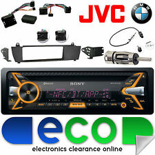 BMW X3 E83 2003-2010 SONY CD MP3 USB Bluetooth coche radio kit de interfaz de volante