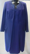 BERKERTEX Embellished Dress & Coat Suit Special Occasion Size 20 NEW TAGS