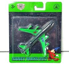 Disney Parks 2017 Matchbox Green Airplane Collectible Mickey Mouse Sorcerer