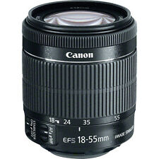 Canon EF-S 18-55mm F/3.5-5.6 STM IS Lens for EOS 60D, 70D, T5i, T4i, T3i, NEW