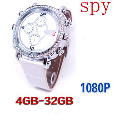 32 GB DVR Fashion Women Spy Watch HD 720P Hidden Video Camera Recorder Camcorder