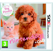 Nintendogs + Cats: Toy Poodle & New Friends Nintendo 3DS Game *in Excellent*