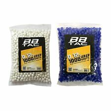 Airsoft BBs 6mm High Performance 0.12 gram rilfe pistol pellets 12g ammo 2000