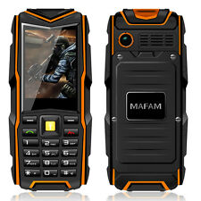 MAFAM F8 IP67 waterproof 8800mAh dual card call recorder phone P128 discovery