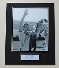 ALVIN MARTIN West Ham United SIGNED Autograph Photo Mount Memorabilia + COA