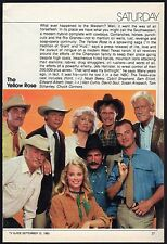 1983 TV ARTICLE~CHUCK CONNERS~DAVID SOUL~SAM ELLIOTT~CYBILL SHEPHERD~KEN CURTIS