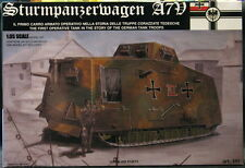 Tauro Models 1/35 GERMAN A7V World War I Tank