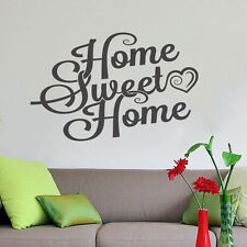 Sweet Home Wall Decor Vinyl Sticker Decal Livingroom Mural Art Decoration Hall