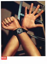 PUBLICITE ADVERTISING 104  2005  DIESEL   collection montres
