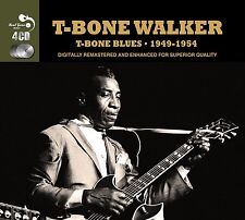 T-Bone Walker T-BONE BLUES 1949-54 Best Of 97 Songs MUSIC COLLECTION New 4 CD