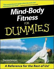 Mind-Body Fitness for Dummies BOOK, EXERCISE WORKOUT YOGA HEALTH BRAIN ANXIETY