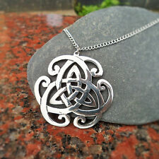 Pewter Celtic Necklace CC13P (92%Tin: An ideal 10th Wedding Anniversary Gift?)
