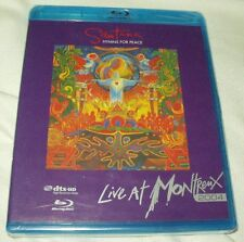 SANTANA Hymns for Peace: Live at Montreux 2004 BLU-RAY NEW Carlos Sealed