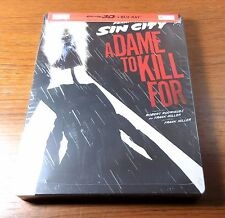 -NEW- Sin City 2 3D / 2D A Dame To Kill For Steelbook (Blu Ray 3D /2D) Bluray 3d